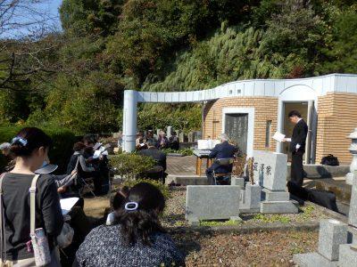 聖徒記念堂礼拝